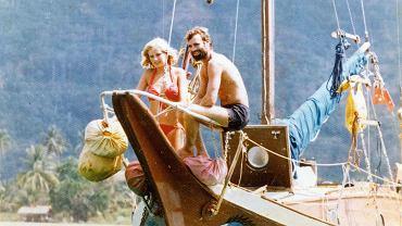 Kerry Hamill i Gail Colley na pokładzie Foxy Lady