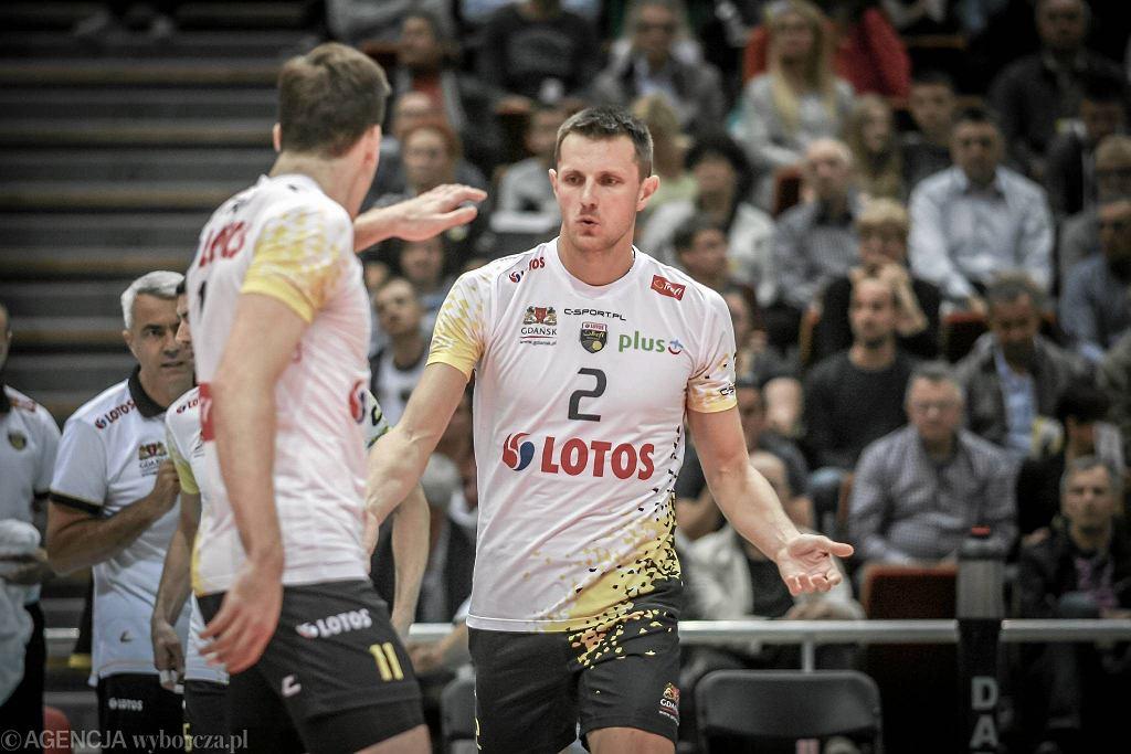 Lotos Trefl Gdańsk - ZAKSA Kędzierzyn-Koźle 3:0. Wojciech Grzyb