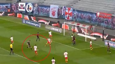 Gol Leona Goretzki w meczu RB Lipsk - Bayern