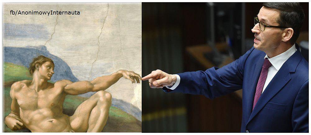 Premier Mateusz Morawiecki - memy