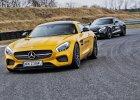Jazda Mercedesem AMG GT S: agresja, moc, groźba