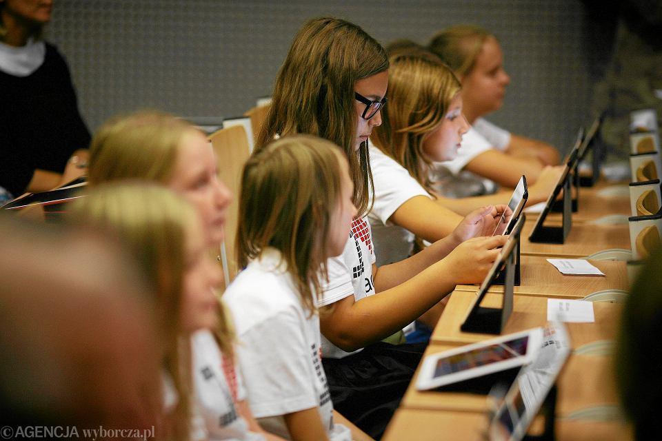 Politechnika Łódzka - uczniowie testują e-podręcznik do matematyki