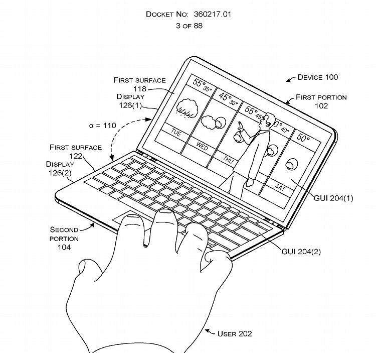 Surface notepad