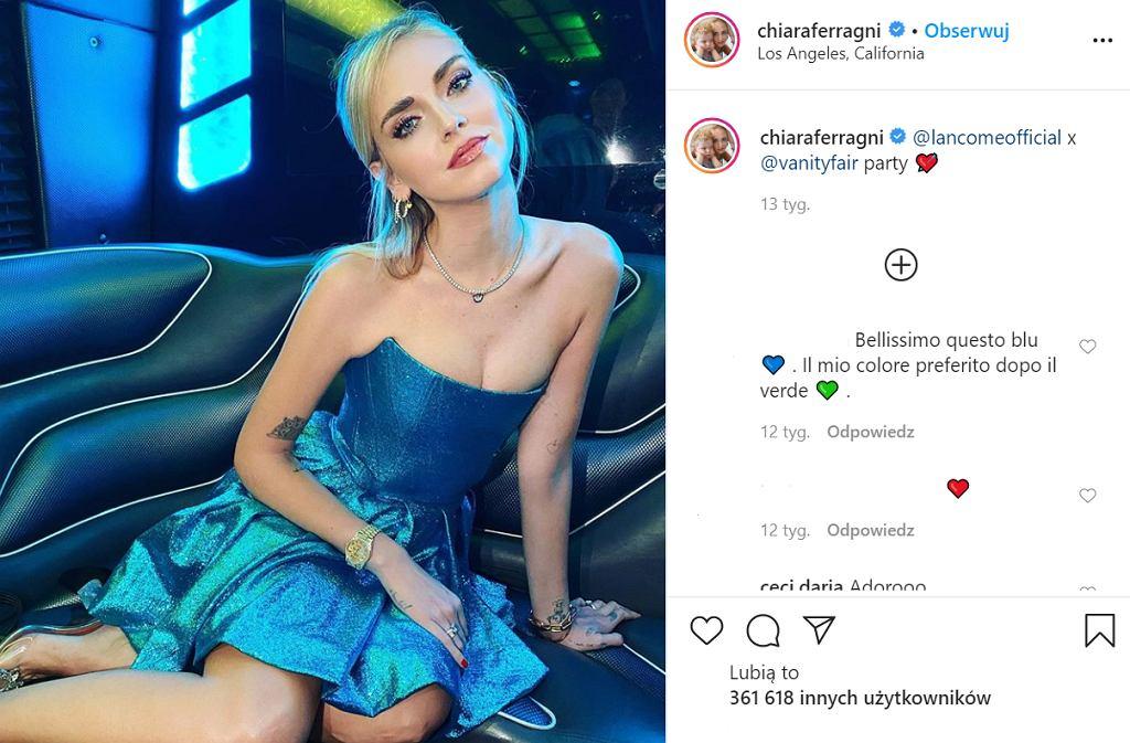Makijaż do niebieskiej sukienki