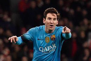 Liga Mistrzów. Arsenal - Barcelona. Messi strzela dwa gole. Zobacz skrót meczu i gole [YOUTUBE]