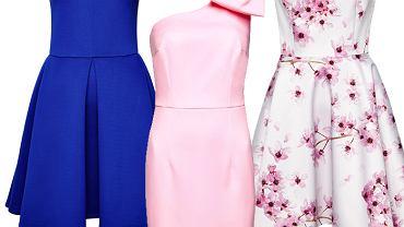 W wiosennej kolekcji Mohito każda z nas ma szansę znaleźć sukienkę dla siebie. Marka proponuje fasony rozkloszowane dla wielbicielek stylu retro, dopasowane modele z ciekawymi detalami, krótkie sukienki o fasonie litery A w stylu lat 60., asymetryczne modele oraz wygodne szmizjerki do pracy.