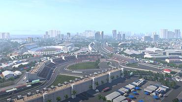 Uliczny tor w Hanoi w grze F1 2020