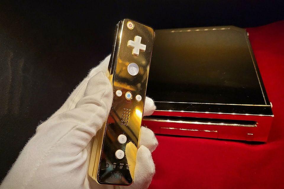 Złota konsola Wii