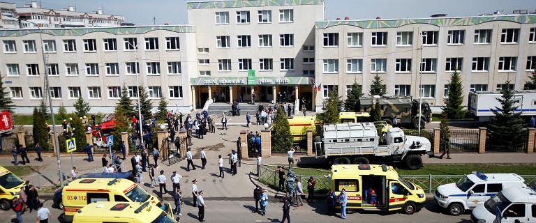 """Rosja. Eksplozja i strzały w szkole w Kazaniu. """"Weszły dwie osoby z bronią"""""""