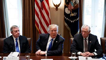 Donald Trump podczas debaty nt. polityki imigracyjnej