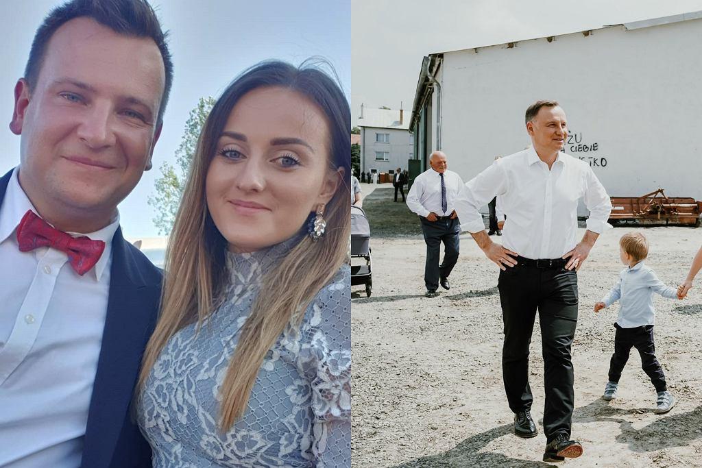 Ania i Grzegorz Bardowscy, Andrzej Duda