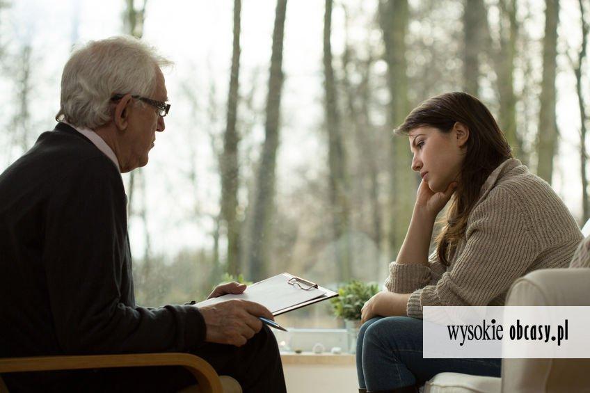 Spotykasz się z psychologiem