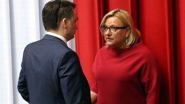 Zbigniew Ziobro i Beata Kempa w Sejmie