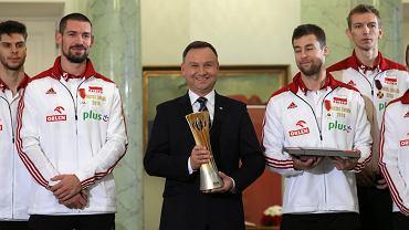 Siatkarze - Mistrzowie Świata u Prezydenta