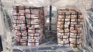 Pieniądze znalezione przez policję