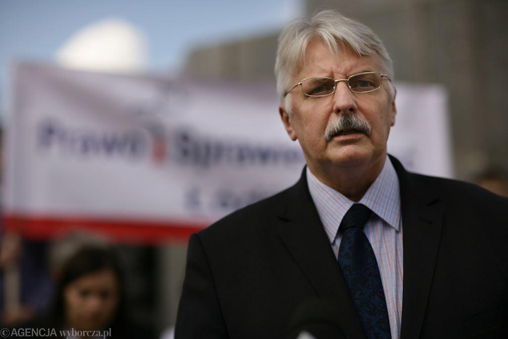 Witold Waszczykowski, były minister spraw zagranicznych