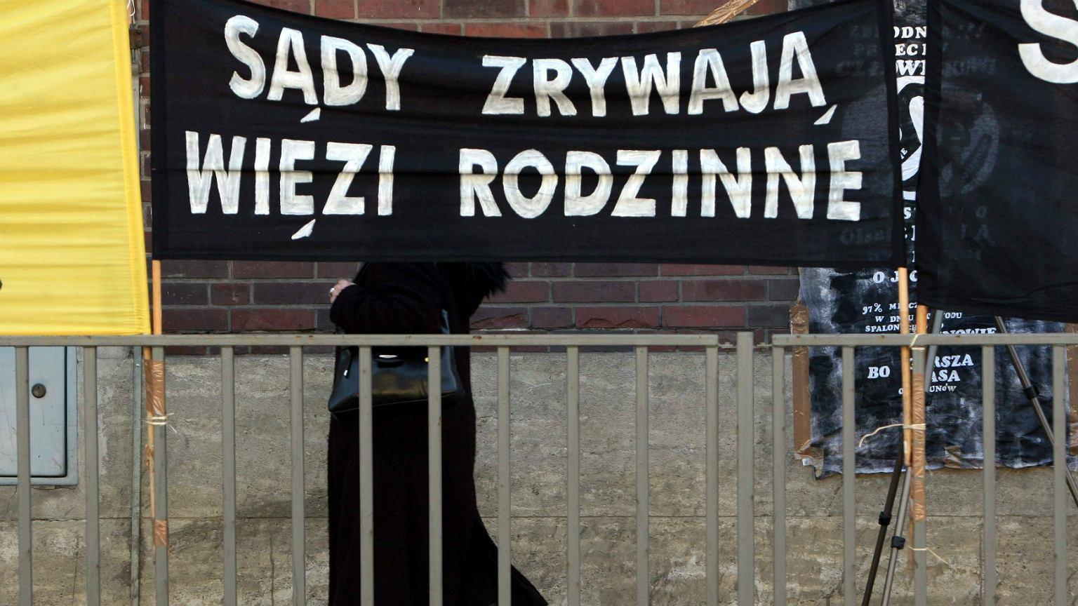 Joanna Daczyńska, adwokat mężczyzn, przekonuje, że sądy rodzinne w Polsce w dalszym ciągu dyskryminują mężczyzn (fot: Maciej Świerczyński/ Agencja Gazeta)