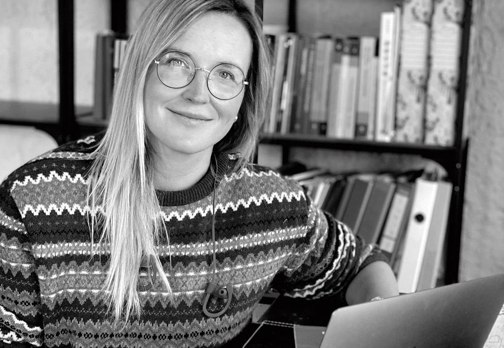 Agata Stola - terapeutka i socjolożka z Centrum SPLOT
