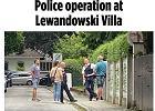 Policja pojawiła się pod willą Roberta Lewandowskiego. Alarm w Monachium
