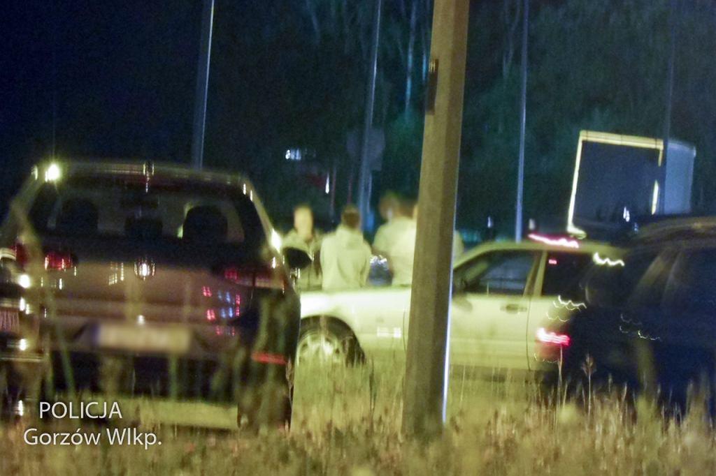 Czerwiec 2021 r. Policjanci zapobiegli nocnym wyścigom po Gorzowie