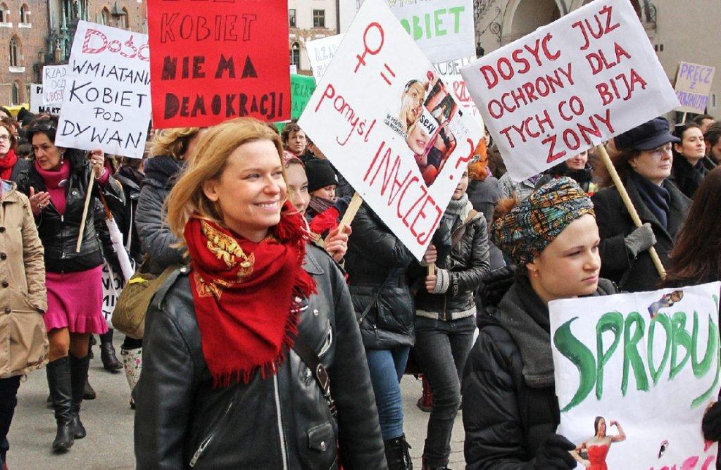 Paulina Młynarska (fot. Mateusz Skwarczek/AG)