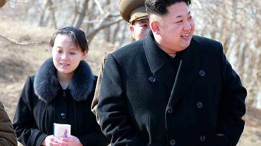 Kim Dżong Un z siostrą Kim Yo-jong