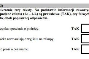 Sprawdzian szóstoklasisty 2016 - część 2 - J. ANGIELSKI. Przykładowe ODPOWIEDZI!
