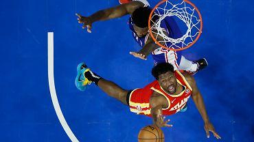 Cud Atlanty Hawks! Pokonali Philadelphia 76ers, choć nie mieli prawa tego zrobić