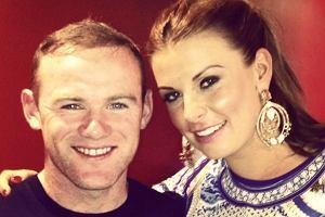 Wayne Rooney, Coleen Rooney.