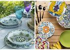 Kolorowe talerze - ożywią kuchnię i jadalnię