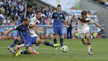 Mecz Niemcy - Argentyna