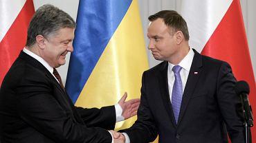 Wizyta prezydenta Ukrainy w Polsce. Warszawa, Pałac Prezydencki, 02.12.2016.