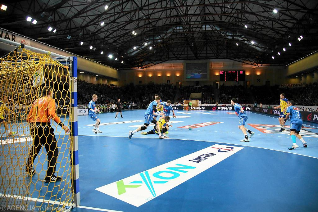 Finał Pucharu Polski, piłka ręczna, Torwar, Warszawa: Vive Targi Kielce - Orlen Wisła Płock 33:32