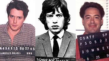 Robert Downey, Mick Jagger, Hugh Grant