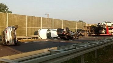 Wypadek na S7. Droga w stronę Radomia jest zablokowana