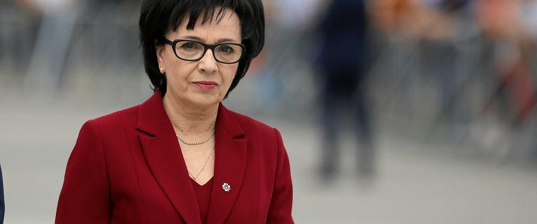 """Witek skierowała do TK wniosek w związku z """"tym, co planuje prezes Gersdorf"""""""