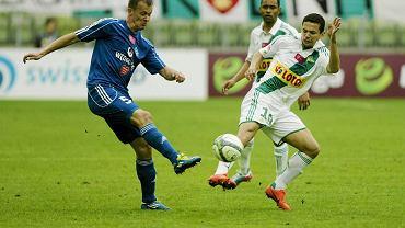 Marek Zieńczuk na niebiesko