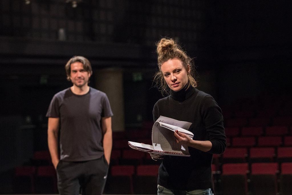 Magdalena Boczarska i Marcin Dorociński na próbie w Och-Teatrze / KASIA CHMURA