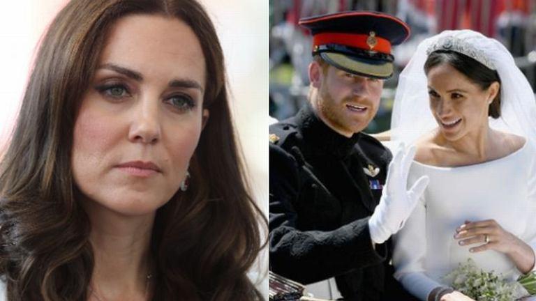 Księżna Kate płakała przed ślubem Meghan i Harry'ego