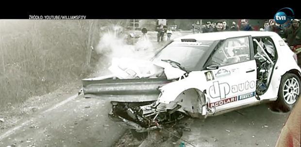 Robert Kubica. Wypadek