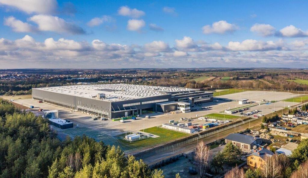 Centrum logistyczne Lidl w Kałuszynie