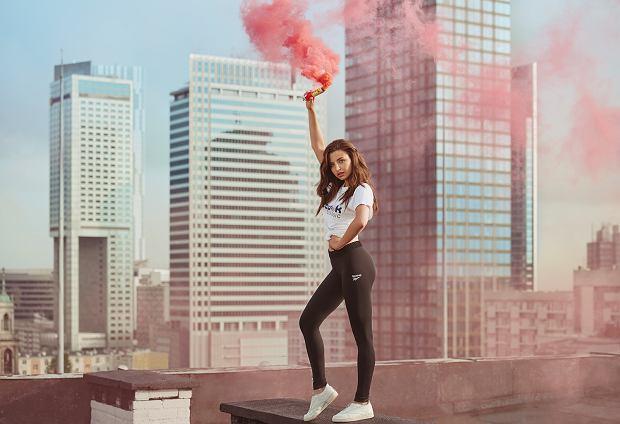 Kampania butów Reebok Classic Club C Zip - Julia Wieniawa