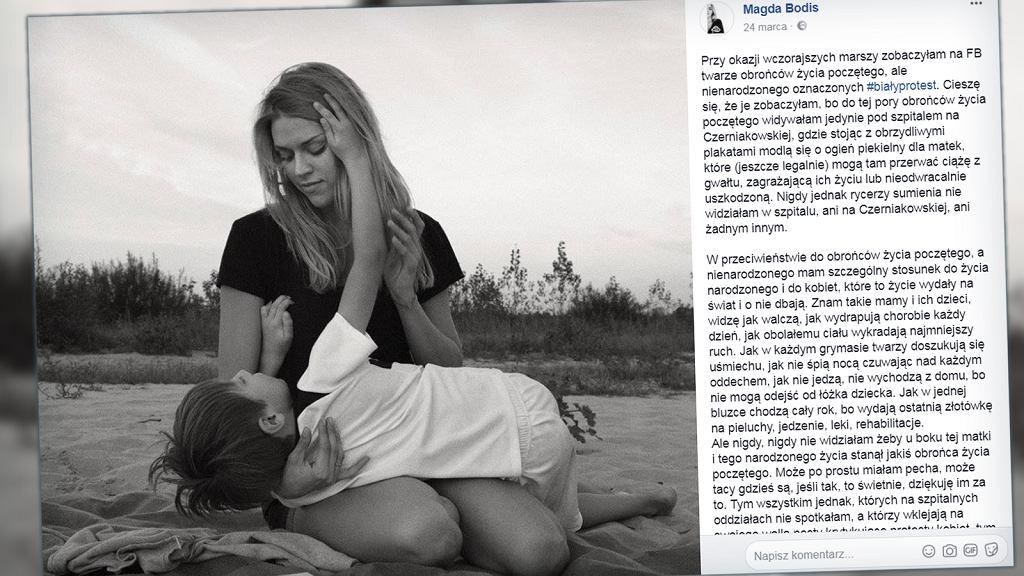 Post Magdy Bodis doczekał się ponad 20 000 udostępnień.