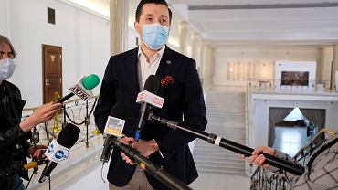 Jan Strzezek w Sejmie