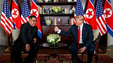 Szczyt Donald Trump - Kim Dzong Un