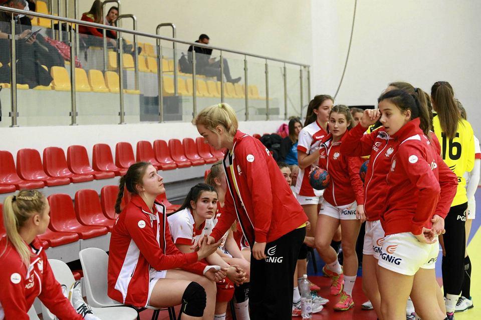 Zdjęcie numer 4 w galerii - Polskie juniorki młodsze zaczęły turniej w Płocku od porażki [FOTO]