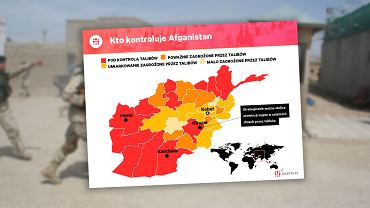 Afganistan klęka przed talibami