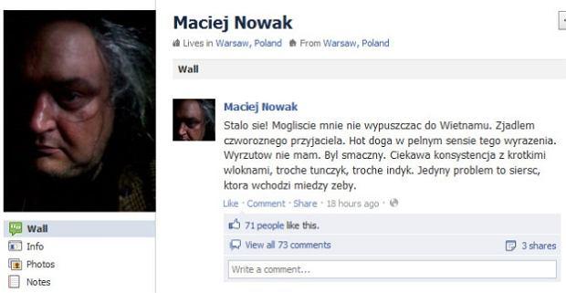 Zdjęcie numer 2 w galerii - Maciej Nowak: