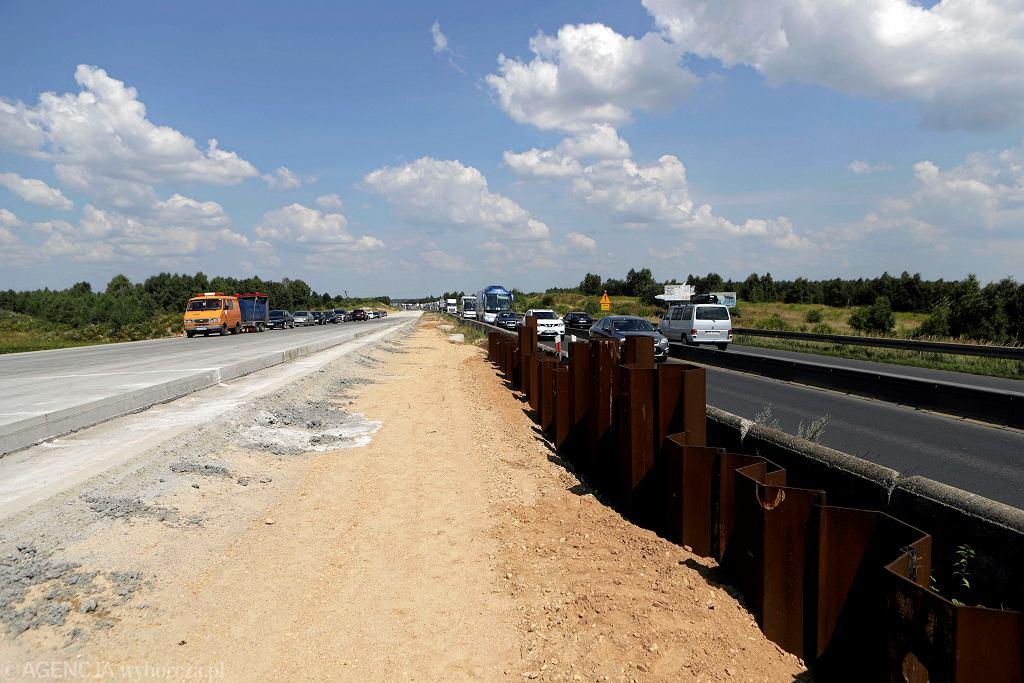 Budowa obwodnicy A1 pod Częstochową
