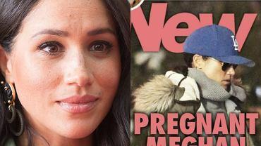 """Meghan Markle jest w ciąży?! Tak twierdzi """"New Idea"""". Aktorka wyszła na spacer"""